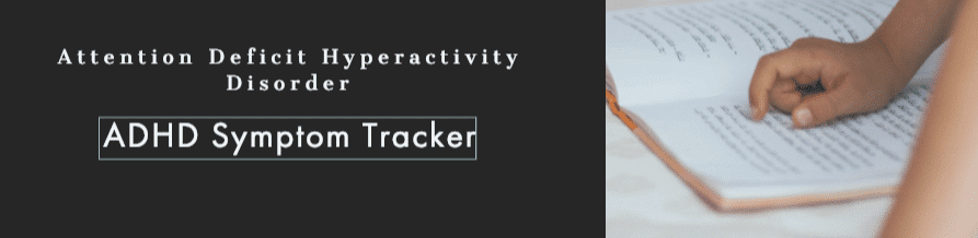 ADHD symptom tracker