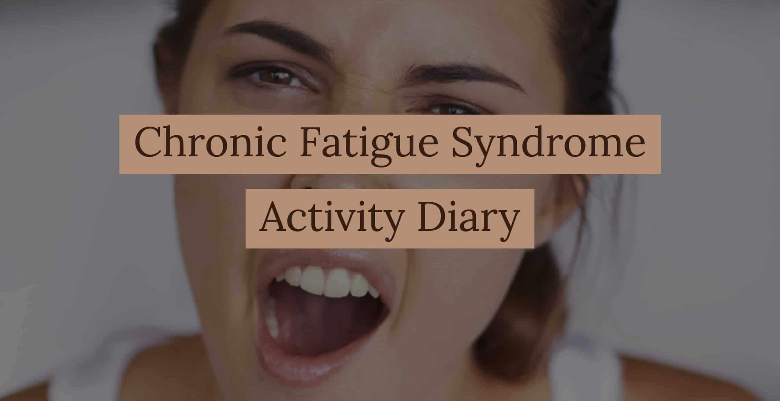 CFS Activity Diary