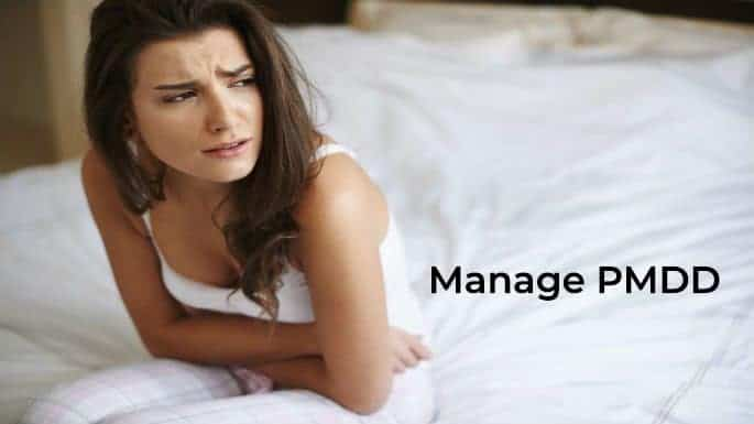 Manage PMDD with a symptom tracker