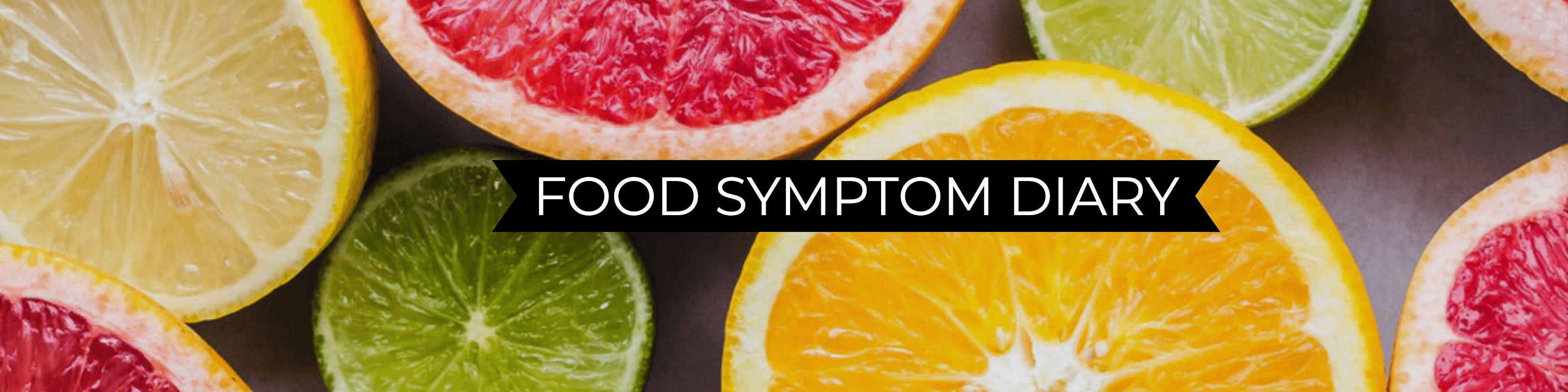 food symptom diary