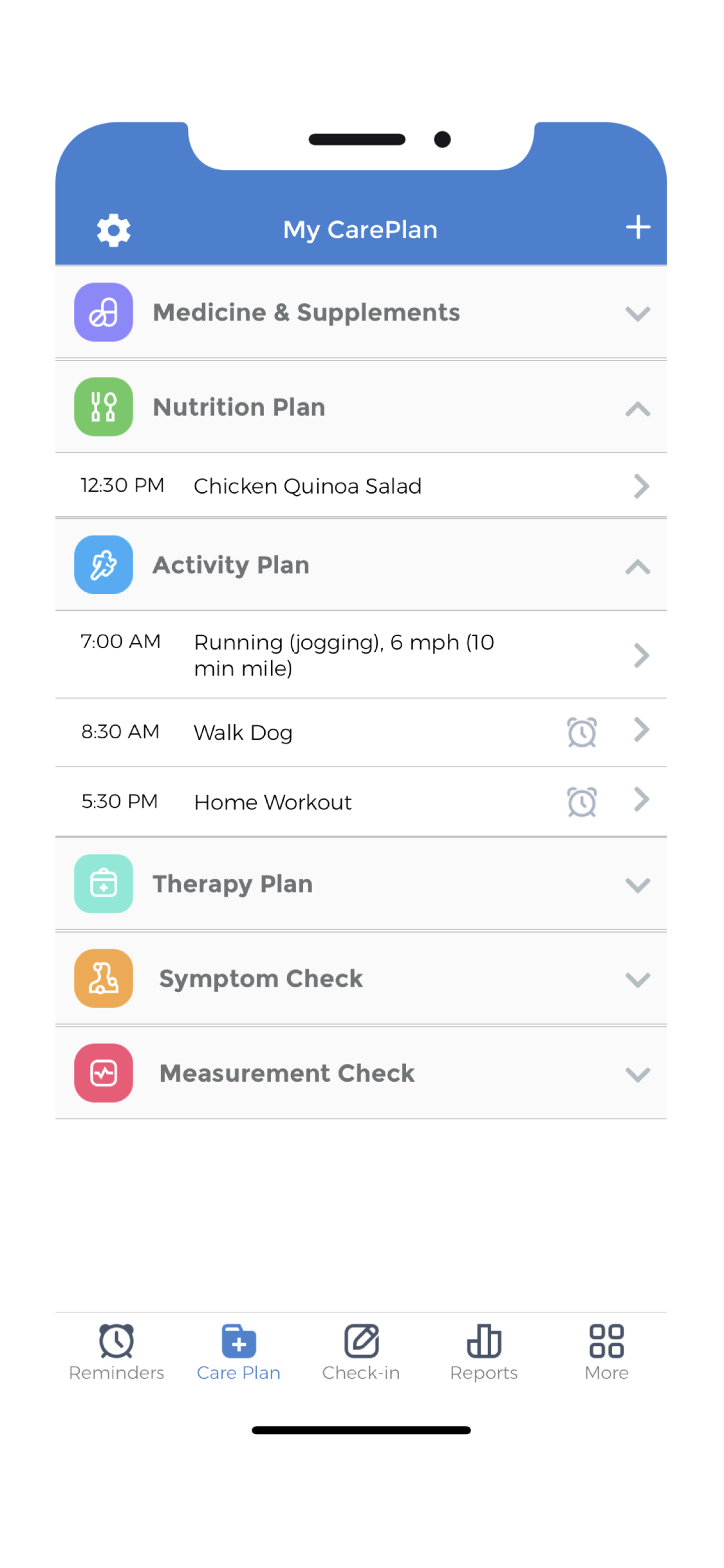 Habit Tracking - Examples