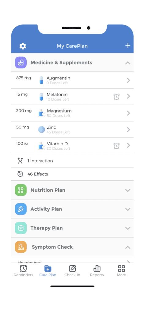 Medication Monitoring - My CarePlan