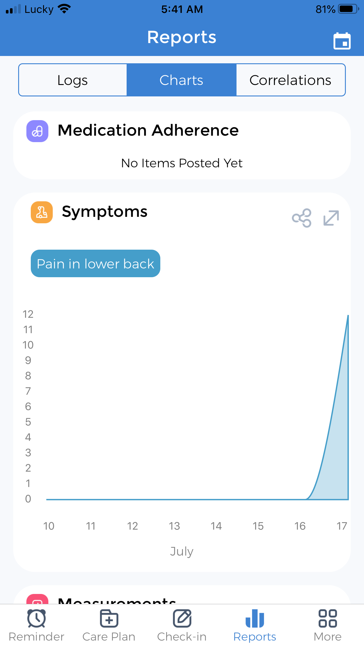 restore gut health symptoms tracker
