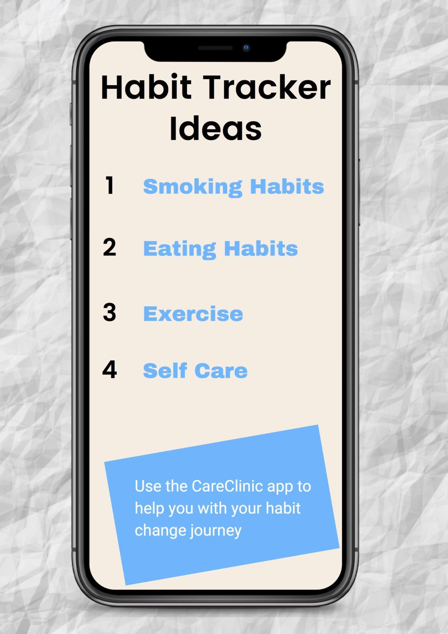 Habit Tracker Ideas