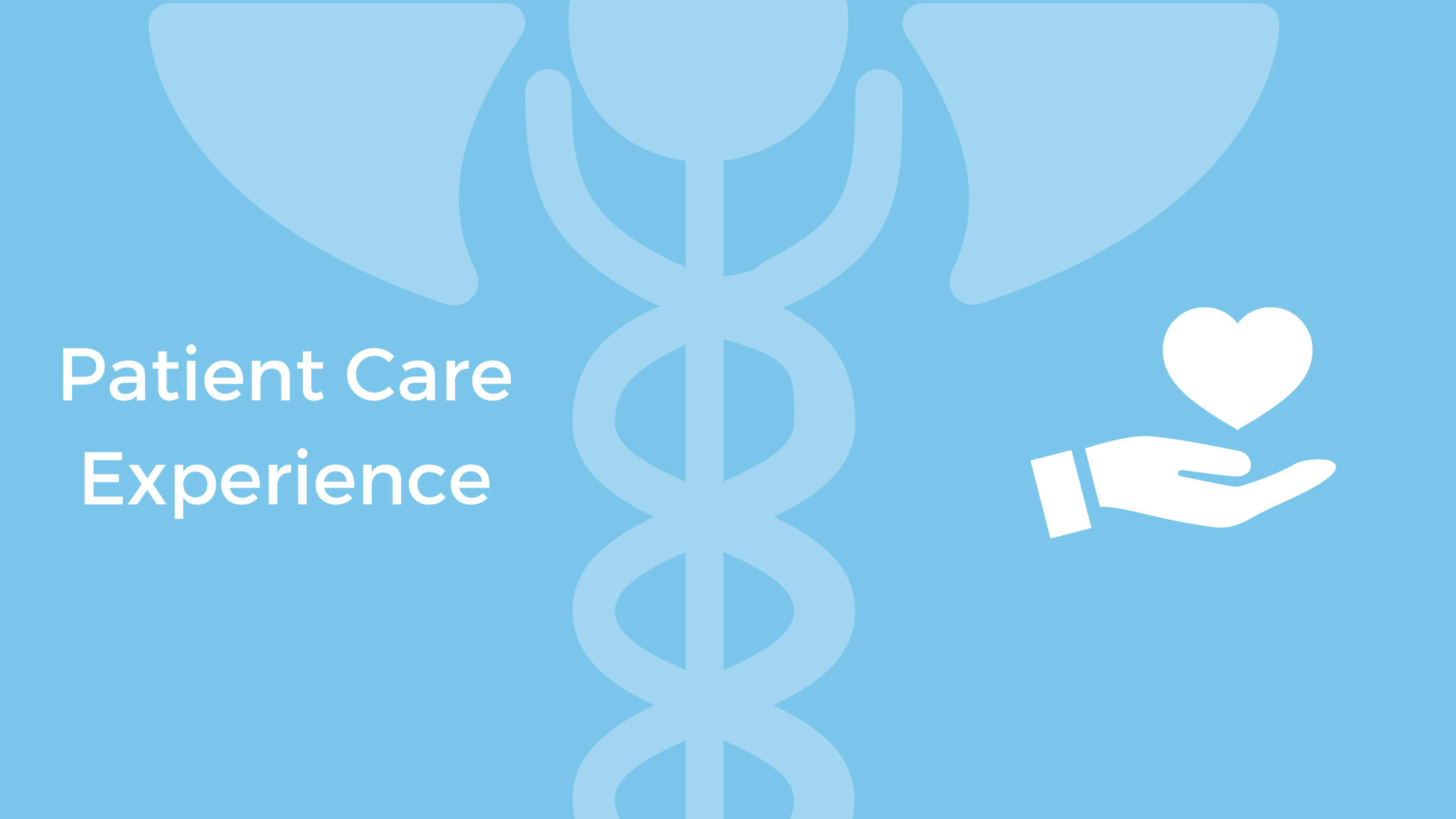 Patient Care Experience
