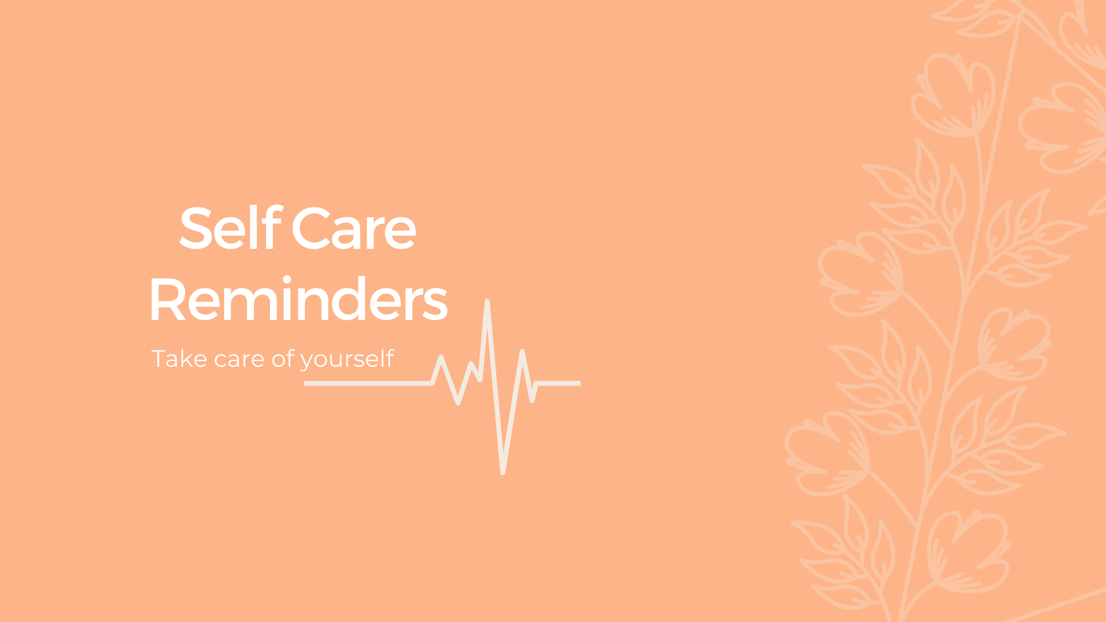 Self Care Apps