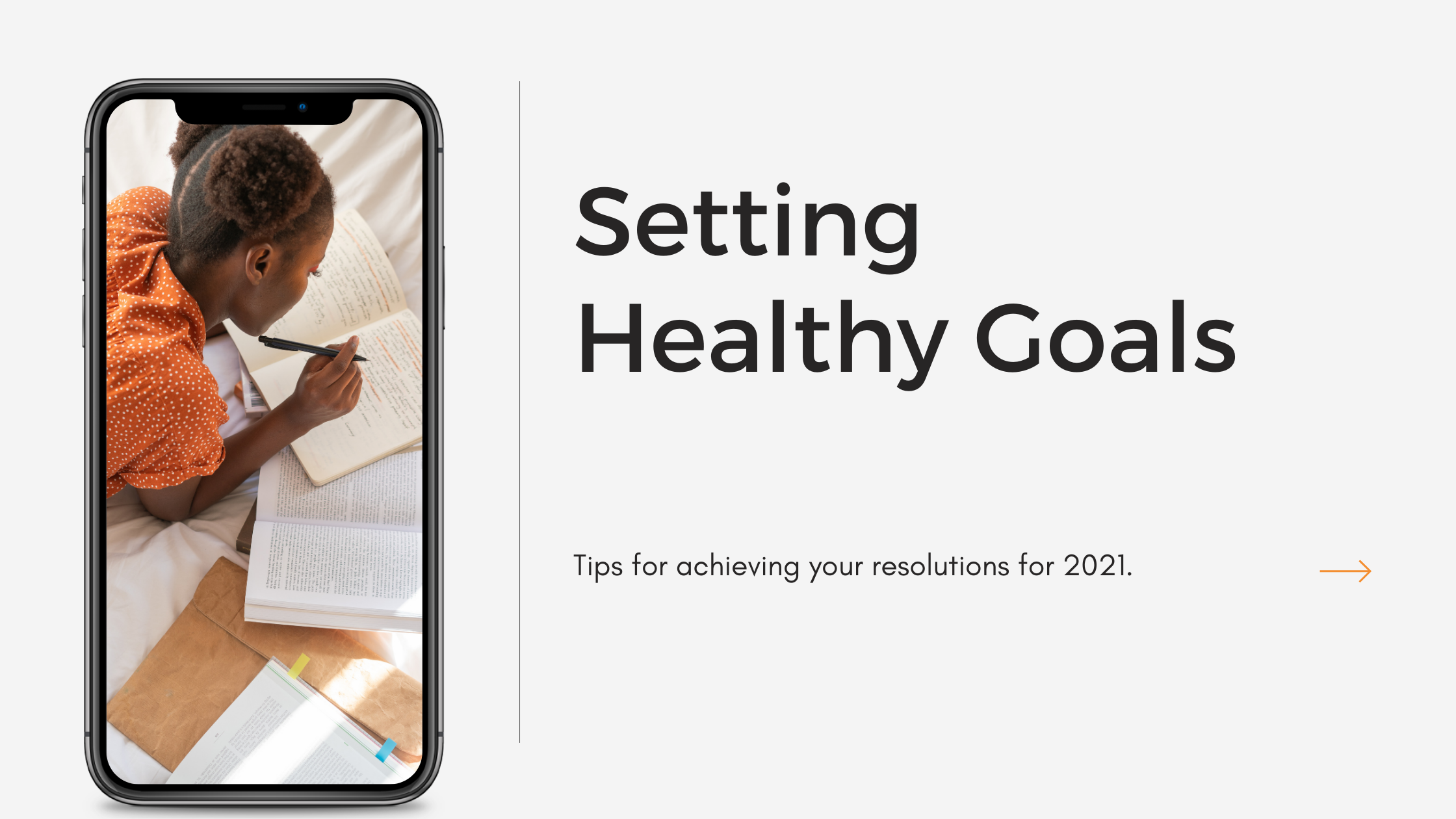 setting healthy goals