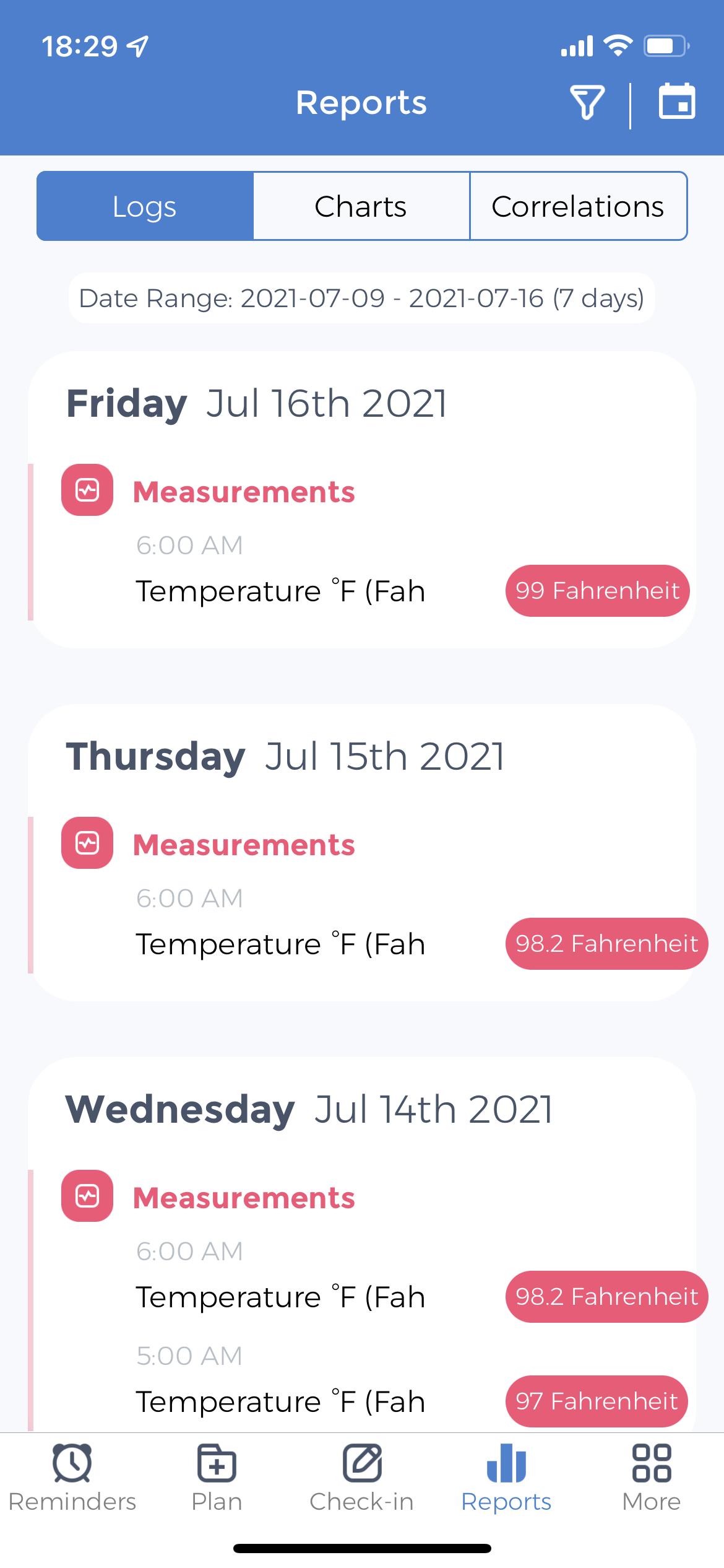 Measuring Basal Temperature