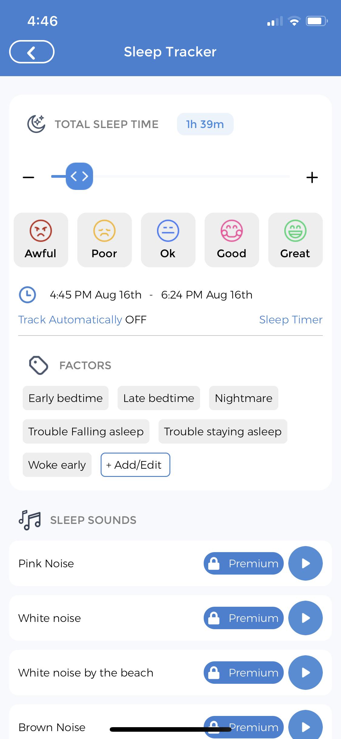 Sleep Tracker for Babies
